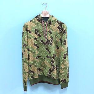 Burberry London Men Camouflage Sweatshirt Hoodie